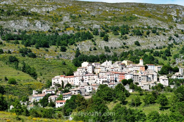 Coursegoules, France - the first travel gem located on a hill