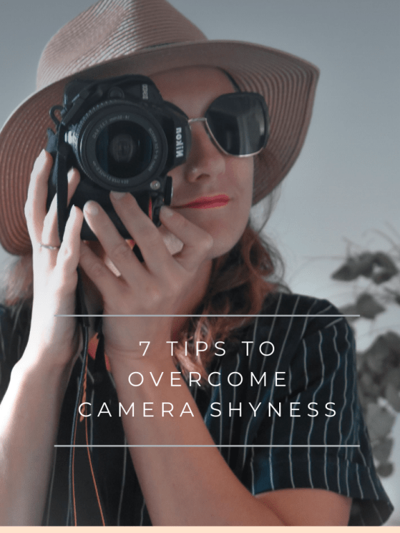 7 tips to overcome camera shyness