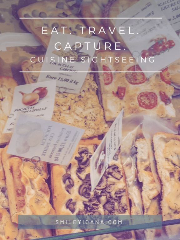 Eat. Travel. Capture. Cuisine sightseeing