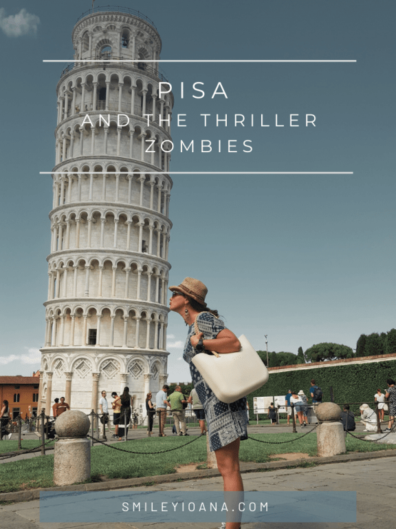 Pisa and the Thriller zombies