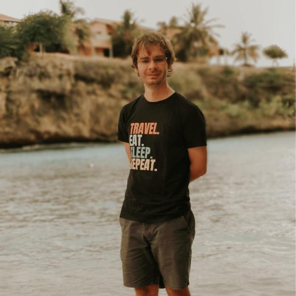 smileyioana.com | Travel, Eat, Sleep, Repeat - T-shirt