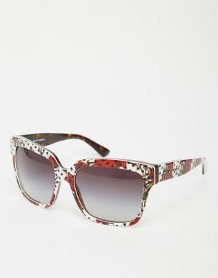 oversized sunglasses d&g