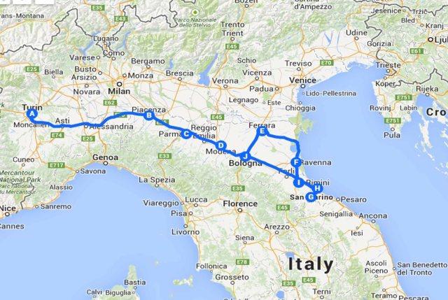 Italia trip
