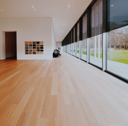 Home with laminate flooring