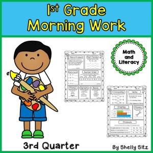 first Grade spiral review morning work