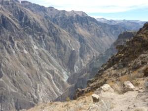 Cruz del Condor, l'endroit où on aurait dû voir des condors...