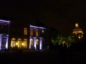 Musée Rodin by night