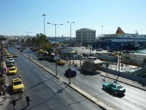 Vue du Pirée