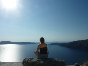 Méditation (ou presque) face à la caldeira