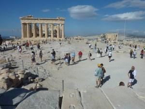 Le majesteux Parthénon