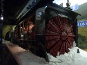 Le train chasse-neige