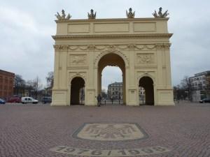 Porte de Brandebourg (hé oui, ici aussi !)