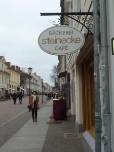 Les petites rues du centre de Potsdam