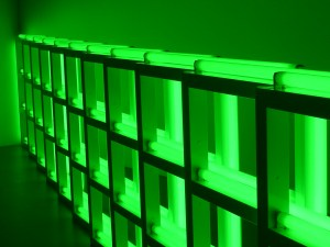 """Untitled"", de Dan Flavin (1973)"