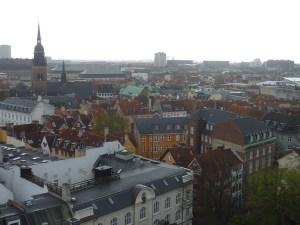 Copenhague vue d'en haut