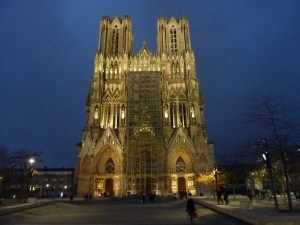 La sublime cathédrale de Reims