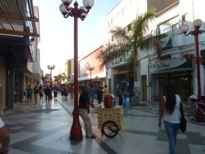 Une partie des rues du centre-ville est piétonne