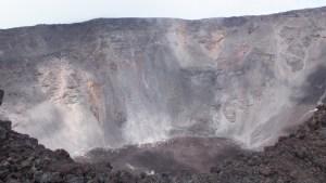 Le cratère Dolomieu !