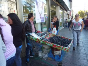 Marchand d'olives