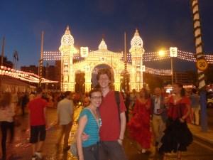 L'entrée principale de la Feria
