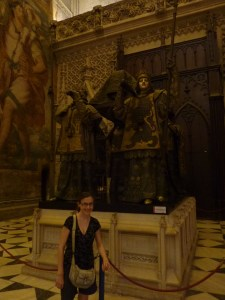 Le tombeau de Christophe Colomb