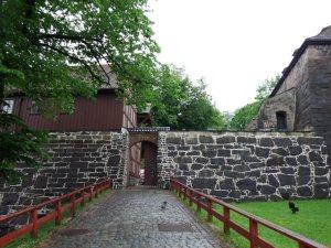 Entrée dans la forteresse d'Akerhus