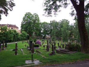 A deux pas, le cimetière où est enterré Munch