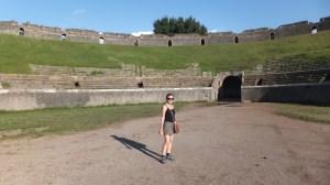 L'amphithéâtre où s'entraînaient les gladiateurs