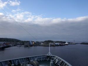 Arrivée à Rorvik