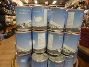 THE cadeau: de l'air d'Islande!