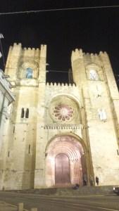 La cathédrale de Lisbonne