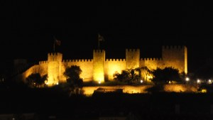 Château by night