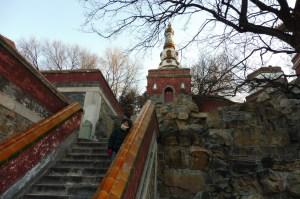 Le monastère bouddhiste