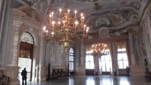 La magnifique salle de bal du Ca'Rezzo