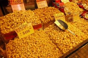 ... avec noix de St Jacques séchées