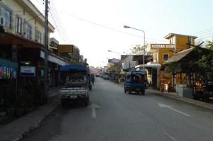 La rue principale de Huay Xai