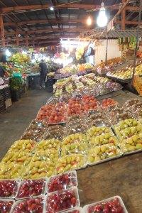 Petit marché près de south station à Amman