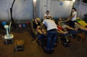 Massage, massage !