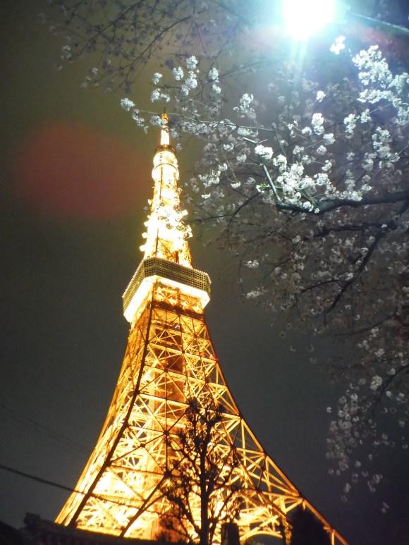 La Tokyo Tower, comme un petit air de tour Eiffel