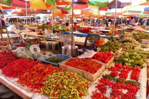 Le marché de Luang Namtha est superbe