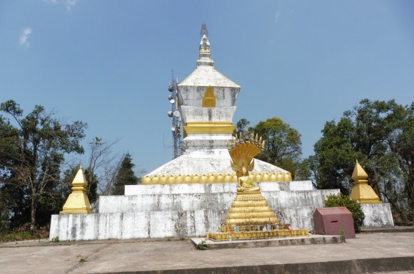 Au somemt du mont Phou Fa