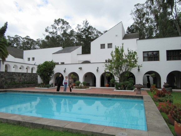 La superbe maison de Guayasamin