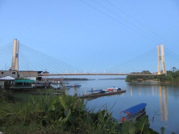 Le grand pont d'El Coca