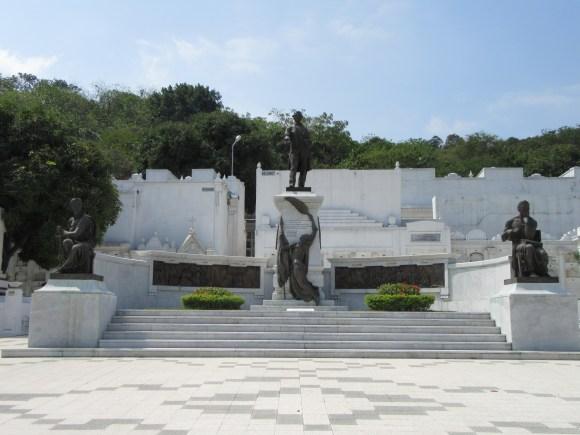 Le mausolée de Rocafuerte