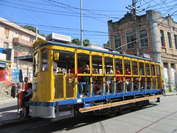 Le tram de Santa Teresa