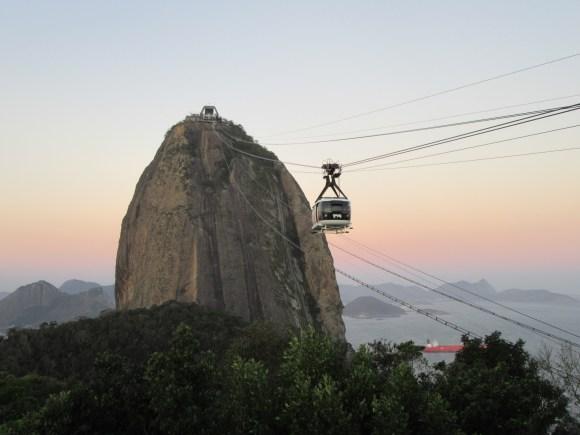 Vue sur le pain de sucre depuis Morro da Urca