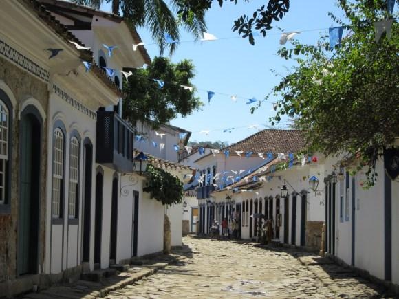 Les petites rues de Paraty...