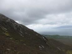 Barren mountain side