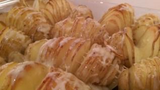 Swedish Hasselback potatoes