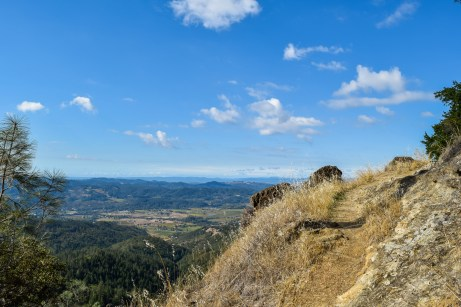 Oat Hill Mine - Palisades - Table Rock   Smiling in Sonoma